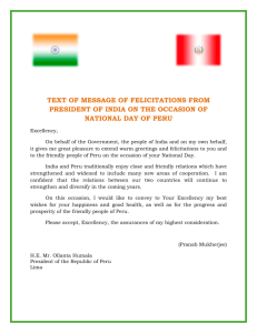 text of message of felicitations from president of india on the