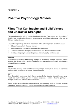 psy movie analysis Psychology 380: introduction to social psychology fall 1999 prof chen film analysis paper brief introduction in addition to entertaining us, movies offer detailed portrayals of human social behavior.