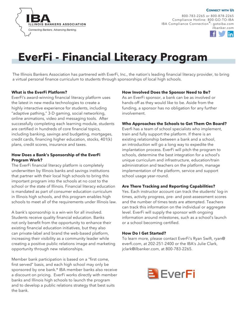 EverFi - Financial Literacy Program