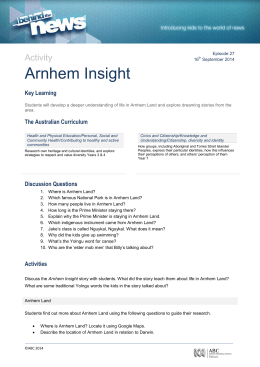 Arnhem Insight
