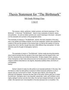 Hawthorne's symbols essay