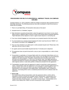 7f77bbaa4ed66 procedures for delta fa reciprocal jumpseat travel on compass airlines
