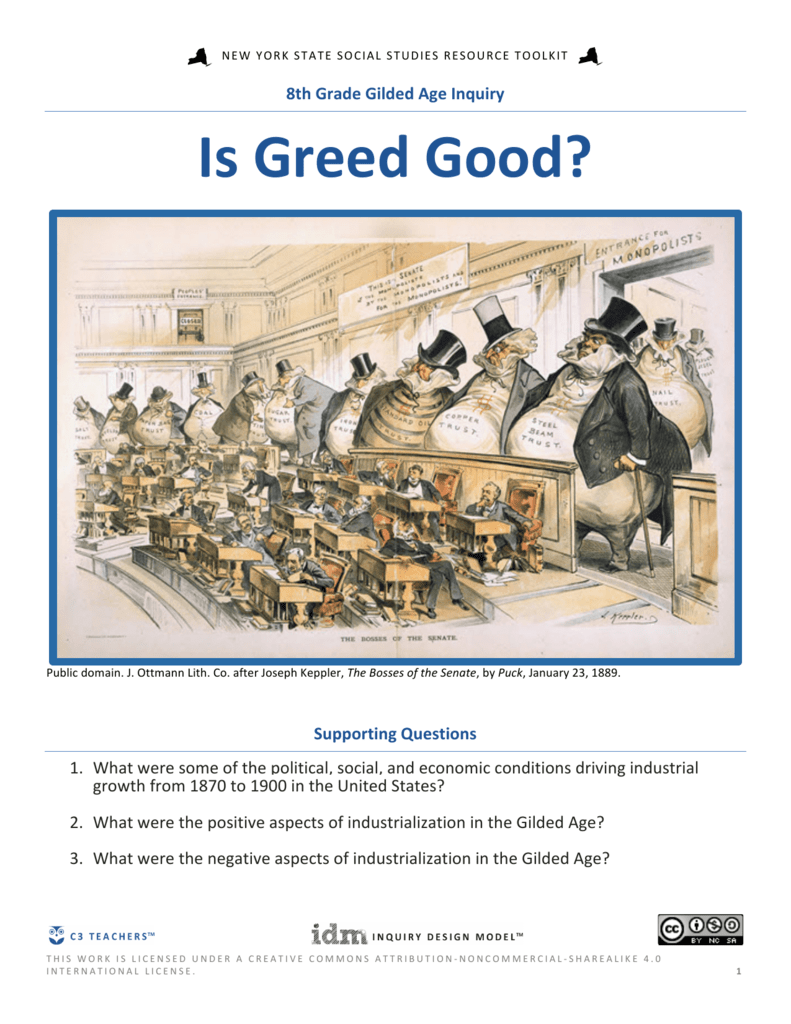 politics in the gilded age social and economic