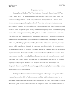 the whipping robert hayden analysis