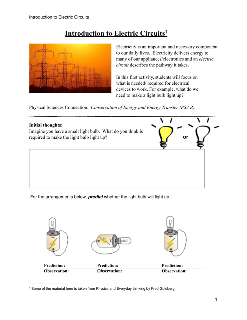 Introduction To Electric Circuits 1 How Does Circuit Work
