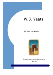 WB Yeats - University of Leicester