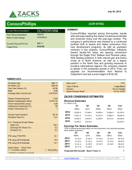 ConocoPhillips - FinTech Securities