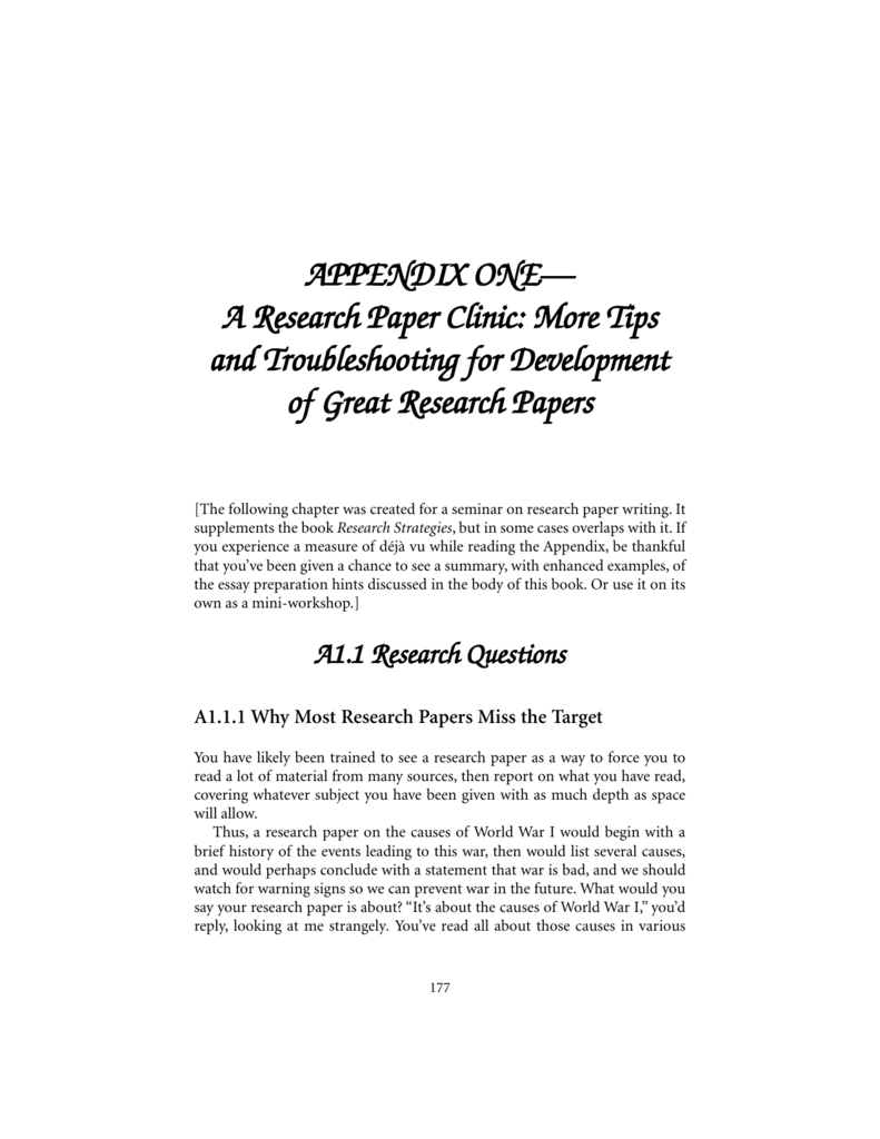 Photo research paper appendix sarmsoft resume builder