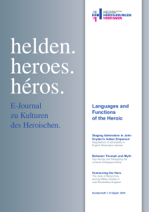 Languages and Functions of the Heroic - Helden