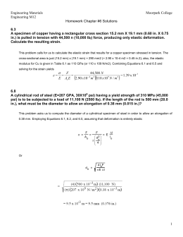 Engineering M12 Solutions Chapter 6