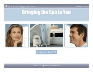 Galvanic Overview for Salon Owners