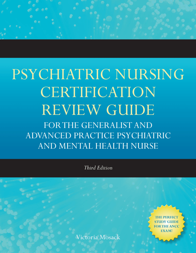Psychiartic nursing certification review guide for the generalist xflitez Gallery