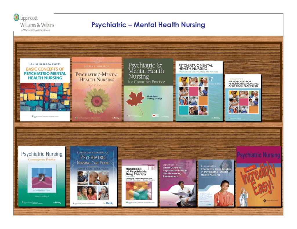 Psychiatric – Mental Health Nursing