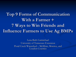 Top 9 Forms of Communication With a Farmer + 7 Ways to Win