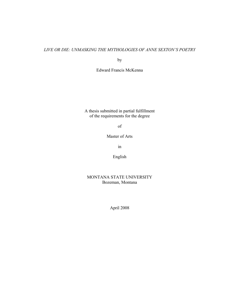 Management network paper thesis