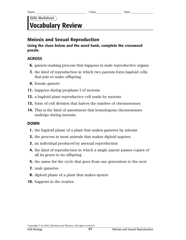worksheet Asexual Reproduction Worksheet biology inclusion batch1 qxd