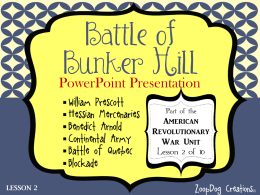 tips for crafting your best battle of bunker hill essay the battle at bunker hill was probably one of the bloodiest and most important civil war term papers paper 16032 on the battle of bunker hill the battle