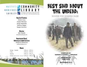 Zombies - Community Library