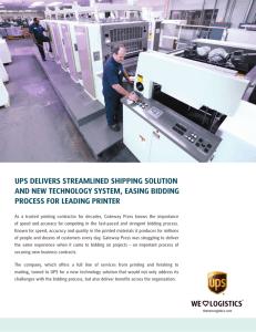 Shipping - UPS com