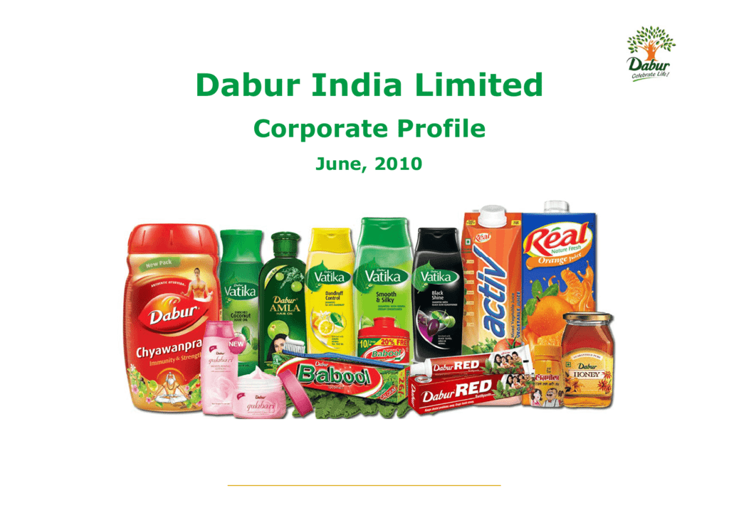 Dabur India-Introduction Dabur India Introduction