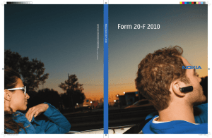 Annual report on Form 20-F 2010