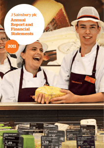 Annual Report and Financial Statements - 2011