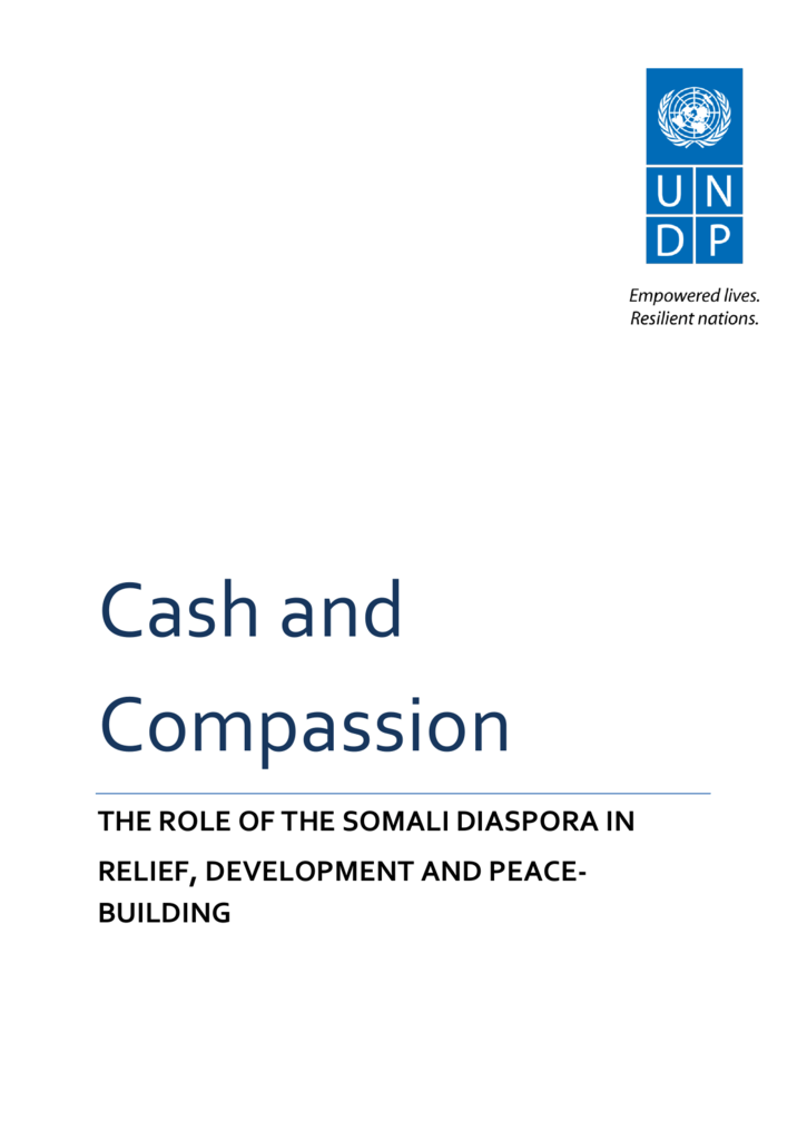 Cash and Compassion - SOAS Research Online