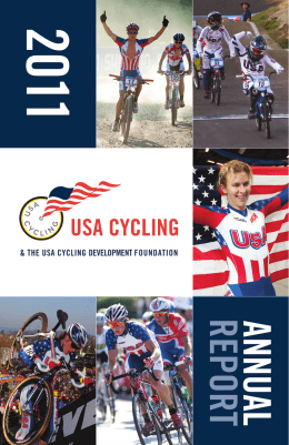 2011 USA Cycling Annual Report