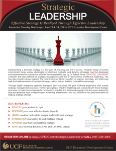 June 2015 Strategic Leadership Flyer.indd