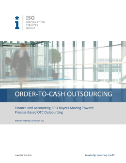 order-to-cash outsourcing