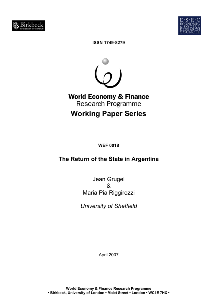 resistance and integration peronism and the argentine working class 19461976 cambridge latin american studies
