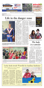May 01, 2015 - Southbridge Evening News