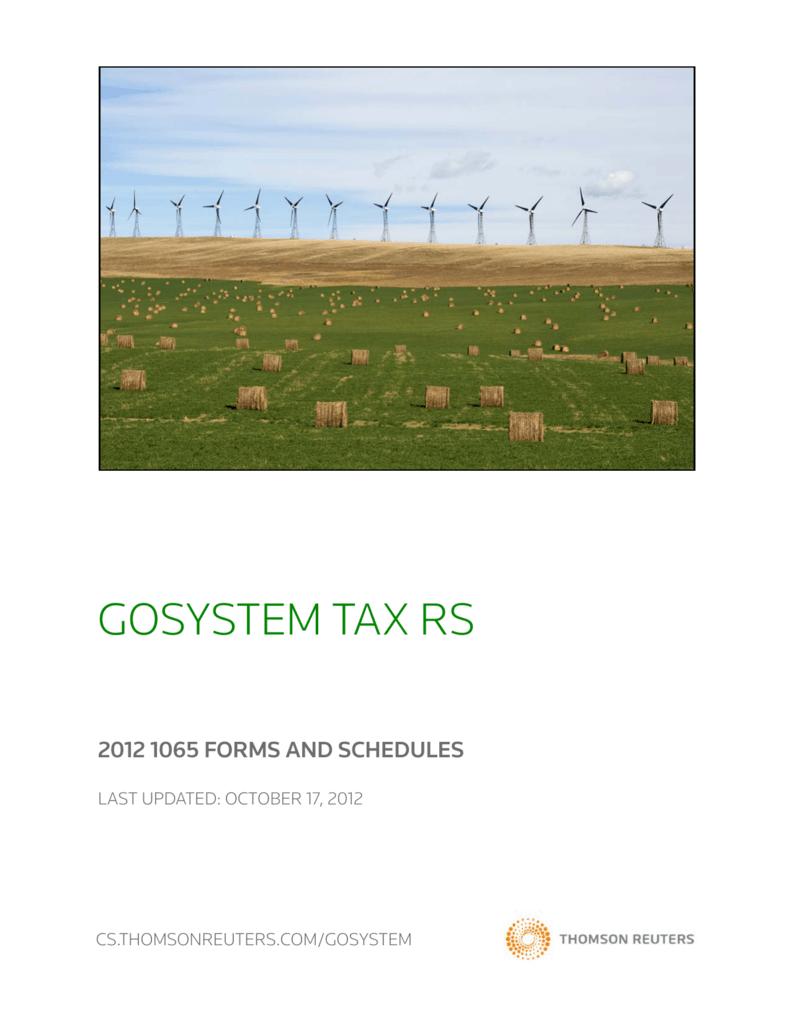 Gosystem tax rs thomson reuters falaconquin