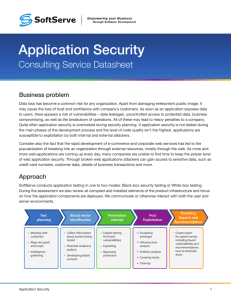 Application Security - SoftServe United Blog