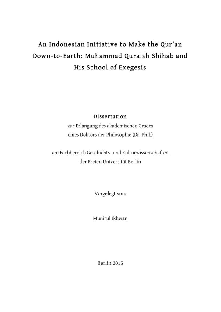 expose dissertation kulturwissenschaft