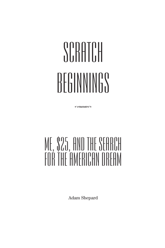 scratch beginnings summary