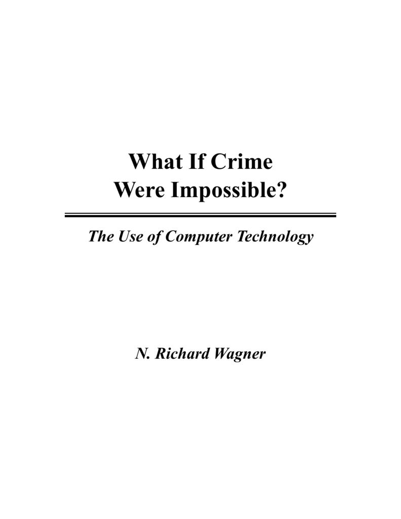What If Crime Were Impossible Department Of Computer Science 500 X 225 23 Kb Jpeg 4 Wire Trailer Wiring Diagram Boat