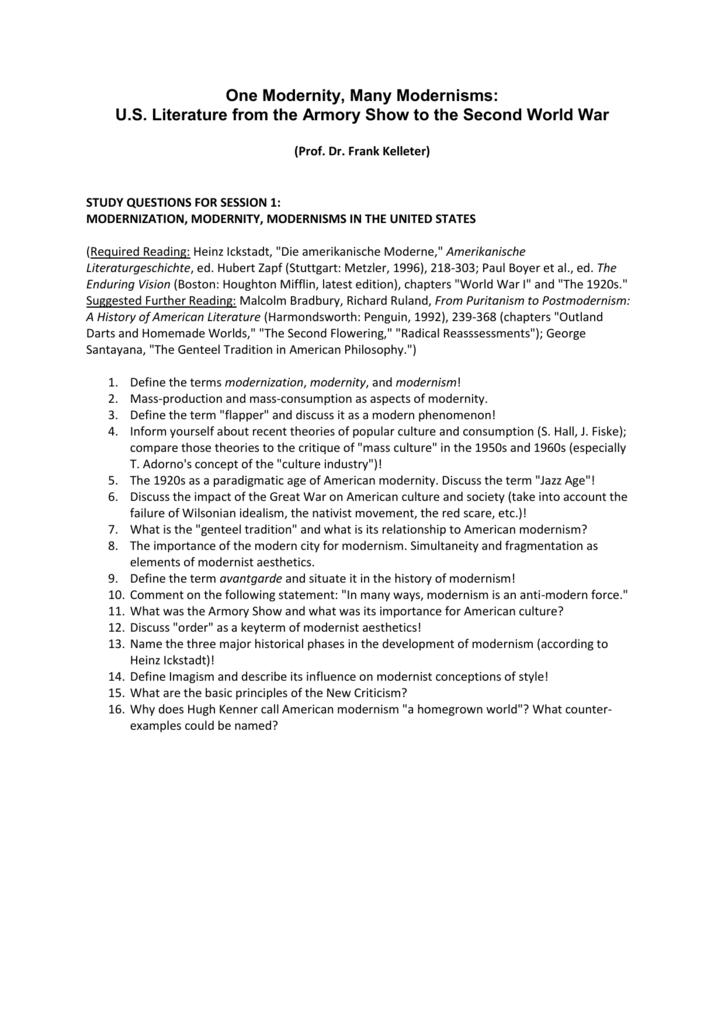 a set of study questions (PDF file)