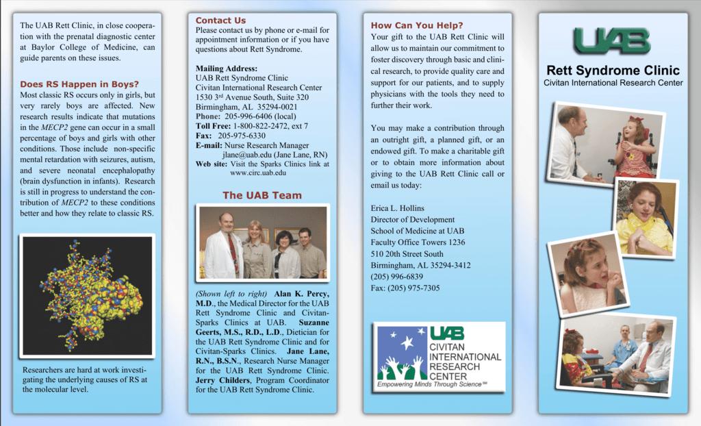 Rett Syndrome Clinic