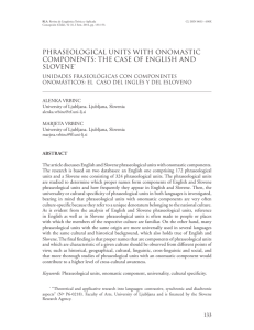 phraseological units with onomastic components