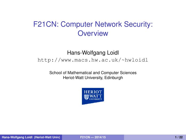 Computer Security Gollmann Pdf