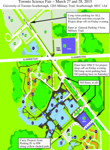 Map - PDF Format - Toronto Science Fair