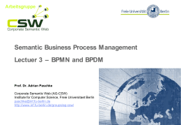 Introduction romi satria wahono semantic business process management lectuer 3 bpmn and ccuart Images