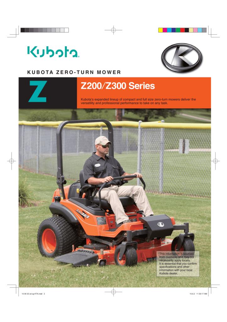 Z200/Z300 Series