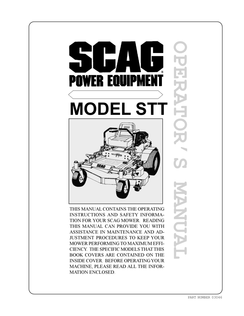 Manual Scag Power Equipment Pto Deck Wiring Diagram