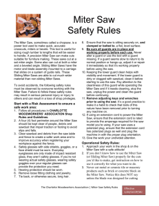 Miter Saw Safety - charlottewoodworkers.org