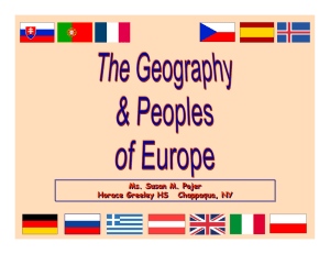 European Geography Shapes History