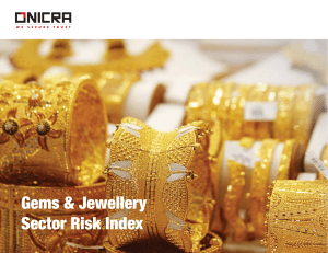 Gems & Jewellery Sector Risk Index