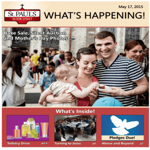 what's happening! - St. Paul's Bloor Street