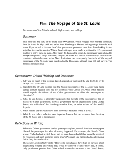 Film: The Voyage of the St. Louis